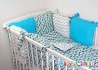 Baby's Comfort 8 PCS BABY BEDDING with PILLOW BUMPER for cot   cotbed