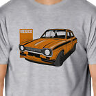Artcars - Classic Ford Escort Mexico Inspired T-Shirt