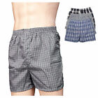 New Lot 3 6 12 Men Boxers Plaid Shorts Underwear Pairs Briefs Size S-3XL New