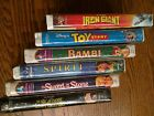 Disney VHS tapes collection (lot of 6)