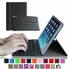 For iPad Air 2013 iPad 5 Slim Leather Smart Case Cover with Bluetooth Keyboard