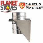 Stainless Steel Shieldmaster Adjustable Base Support For Twin Wall Flue Pipe
