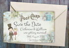 SAVE THE DATE MAGNETS Personalised Old Cinema Theatre Ticket Design