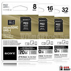 Sony 8GB 16GB 32GB 64GB micro SD SDHC Class 10 70MB/s Memory Flash SD Card Lot