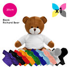 Blank Richard Teddy Bear Soft Toy Plain T-Shirt Hoody for Transfer Sublimation