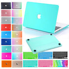 Smart Rubberized Hardshell Hard Case With Keyboard Skin Cover For Apple Macbook