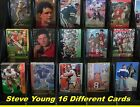 STEVE YOUNG_ 15 Different Cards  _ Choose 1 Card or Several Cards _ 10 Mail FREE