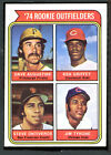 1974 Topps #598 Rookie Outfielders EX+ 86593