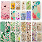 Various Pattern Painted Silicone Soft Clear Case Cover For iPhone 5 5c 6 7plus 8 $1.0 USD