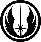 Star Wars Jedi Order Symbol Logo Vinyl Decal Car Bumper Window Sticker Wall Art $2.5 USD on eBay