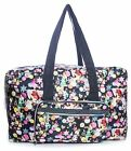 Big Handbag Shop Unisex Zip Pockets Cartoon Lightweight Large Holdall Bag