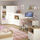 4KIDS Corner wardrobe tall bookcase cupboard package and choice of handles