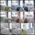 Katrina Modern Duvet Cover Set Reversible Cotton Blend Single Double King Bed