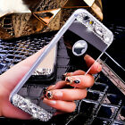 Luxury Bling Diamonds Soft TPU Silicone Mirror Case Cover For iPhone 6s 7 7 Plus