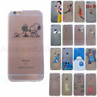 Ultra Thin Spoof Stitch Snoopy Soft TPU Clear Case Cover for iPhone 5/5S/6/6S 7