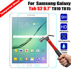 """Tempered Glass Screen Protector Film Cover For Samsung Galaxy Tab 7"""" 8"""" 9"""" 10"""""""