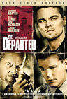 THE DEPARTED DVD 2007 Widescreen DiCaprio Damon Nicholson Wahlberg NEW Crime