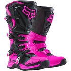 New FOX Racing Comp 5 Black/Pink Kids Youth MX Offroad Motorbike Motocross Boots