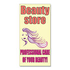 Beauty Store Professional Care Of You  DECAL STICKER Retail Store Sign $15.99 USD