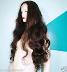 Full Lace Wig Wigs Human Indian Remy Remi Body Wave Wavy Multi Color Hand Tied