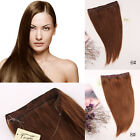 Halo Invisible 100% Human Hair Extensions Wire Headband 20inch 80g 100g