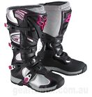 NEW FOX Racing Comp 5 Black Pink Adult MX Boots Motocross Offroad Dirtbike 2015