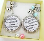S.Keyring SET Left too soon..Daddy & Mummy of an Angel, Baby loss, miscarriage 6