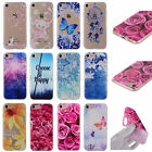 Clear Crystal Pattern Silicone Rubber Soft TPU Case Cover For iPhone LG ASUS