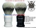 "LS(MS) - 100% Silvertip Badger Shaving Brush - ""Atlanta"" Ebony & Ivory 24mm Knot"