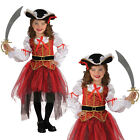 Girls Pirate Princess Of The Seas Rubies Caribbean Fancy Dress Costume Outfit