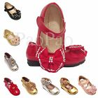 Girls Infant Kids Wedding Bridesmaid Sandals Party Shoes Size