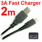 5V 2A DC 18AWG High Speed Fast Charge Only Short Micro USB Android Charger Cable