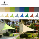 LyShade 12' Triangle Sun Shade Sail Canopy - UV Block Patio Lawn Outdoor