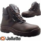 Womens JALLATTE S3 Waterproof Ladies Leather Safety Toe Cap Shoes Work Boots Sz