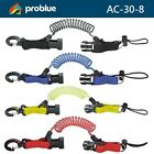 Problue Snap Shock Line AC-30-8 Coiled Quick Release Buckle Dive Gear - US