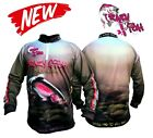 ORGINAL OFFICIAL TEAM CRAZY FISH LONG SLEEVE BREATHABLE FABRIC   LURE FISHING
