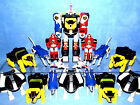 "POWER RANGERS MIGHTY MORPHIN ""NINJA"" COLLECTION  DELUXE MEGAZORDS ZORDS MMPR"