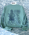 navy seals six - U.S Navy Seals Long Sleeve T-Shirt Skull Skeleton Seal Team Six 6  DEVGRU New