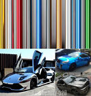 Entire Car Wrap / Full Roll CBW Glossy Mirror Chrome Series Vinyl Sticker Decal