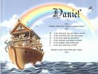 """Noah's Ark"" Personalized Name Meaning Print Wall Decor"
