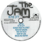 The Jam. All Mod Cons. In The City. Record Label Vinyl Sticker. Paul Weller.