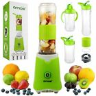 AMOS Juice n Go Portable Blender Fruit Juicer Smoothie Maker Ice Crusher 350W