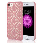 Vintage Damask Hard Back Phone Case Cover for Samsung Galaxy S6 S7 Edge Plus