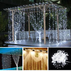 curtain light - 100 LED Christmas xmas String Fairy Wedding Curtain Light warm white/white 110V