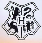 Harry Potter Hogwarts School Of Magic Coat Of Arms Crest Logo Sticker Decal