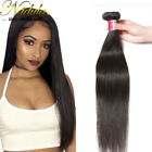 US Stock 7A Indian Human Hair 100g/bundle 100% Virgin Straight Hair Extensions