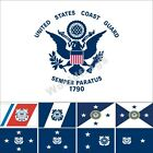 US Coast Guard Flag 3X5FT Guidon Auxiliary  Vice Commandant Rear Vice Admiral