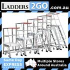 MONSTAR ORDER PICKER LADDERS 2 TO 6 STEP VERSIONS AVAILABLE (WA)