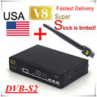 FTA HD 1080P DVB-S2 V8 Super Satellite TV Receivers support cccam/iptv/usb wifi