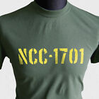 NCC-1701 USS Enterprise T Shirt Star Trek Sci Fi Kirk Spock Retro Movie TV TOS